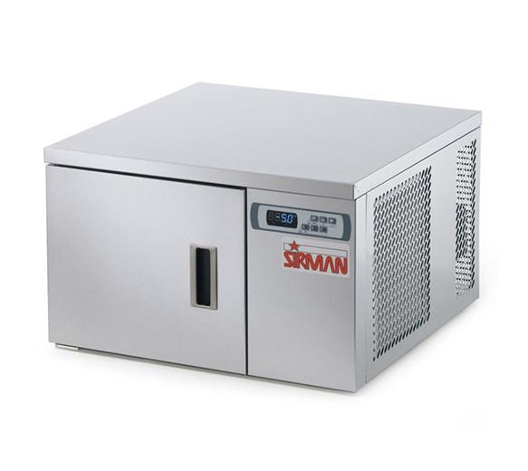 Sirman Dolomiti 3 x 2/3 GN Blast Chiller Shock Freezer. Tabletop Model