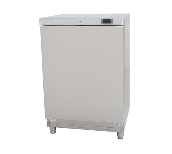 Stainless Steel Undercounter Commercial Catering Freezer 120 Litre - THTN20SS