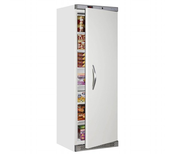 Tefcold UF400B - 400  Litre White Single Door Catering Freezer