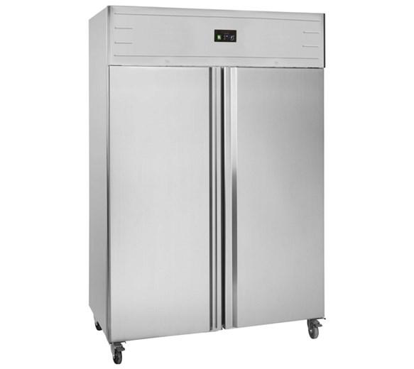 Tefcold Double Door 1400 Litre Commercial Freezer GUF140