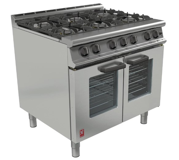 Falcon Dominator G3106 6 Burner LPG Commercial Range Cooker