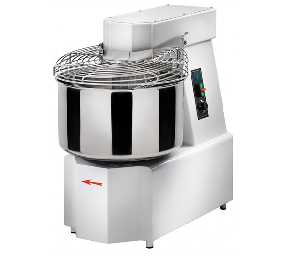 Gam 32  Litre - 25kg Spiral Dough Mixer Model S30 - Made In Italy