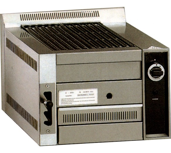Gam B50 Lava Rock Chargrill - Natural Gas - Made In Italy