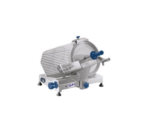 """GAM Professional MI300 Gravity Meat Slicer. 12""""- 300mm Blade - Made In Italy"""