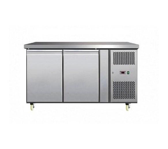 Gastroline 2 Door Freezer Prep Counter 700mm Deep