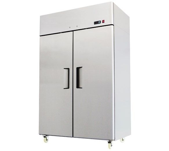 Gastroline AT 1200  Litre Double Door Stainless Steel Freezer