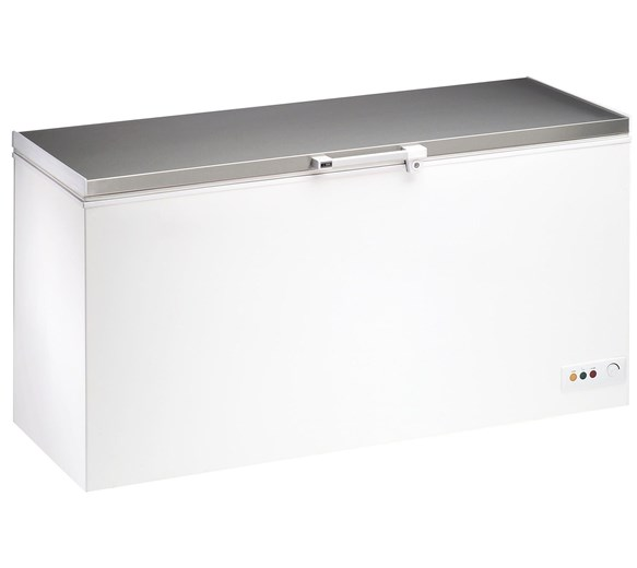 Gastroline Classic 650  Litre - 23.6 cu ft Chest Freezer With Stainless Steel Lid BD650SS
