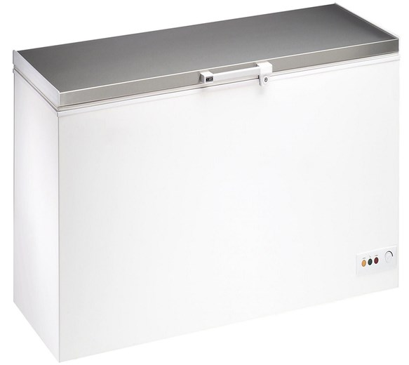 Gastroline G-Frost 450  Litre - 16 cu ft Chest Freezer With Stainless Steel Lid BD450SS