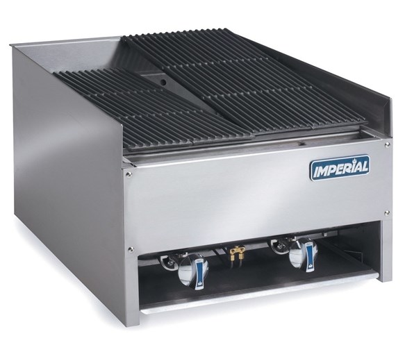 Imperial Heavy Duty Gas Char-Rock Chargrill EBA-2223 With 2 Year Warranty