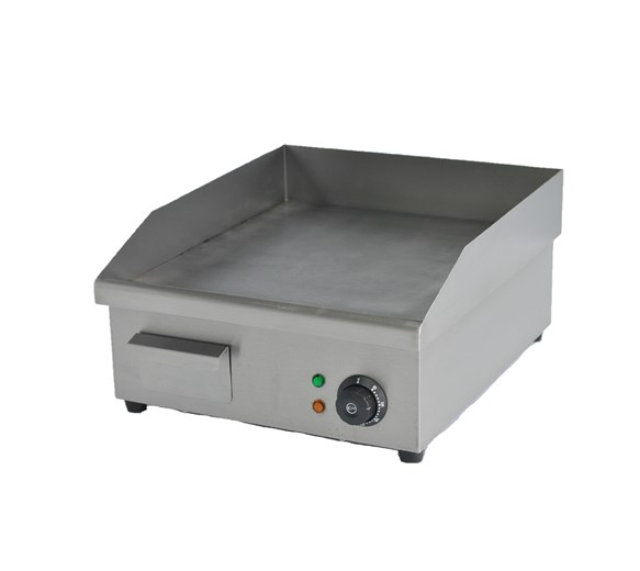 Italinox Electric Griddle 400mm Wide - 16 Inch