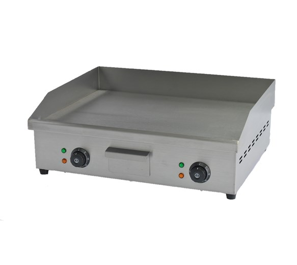 Italinox Electric Griddle 600mm Wide - 24 Inch