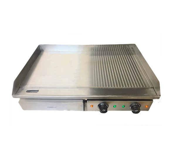 Italinox Dual Zone 30 inch - 750mm Electric Griddle