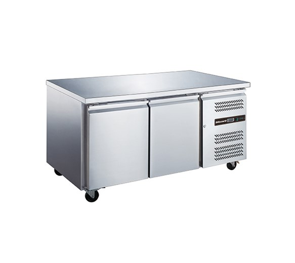 Blizzard 2 Door Refrigerated Prep Counter 600mm Deep HBC2SL