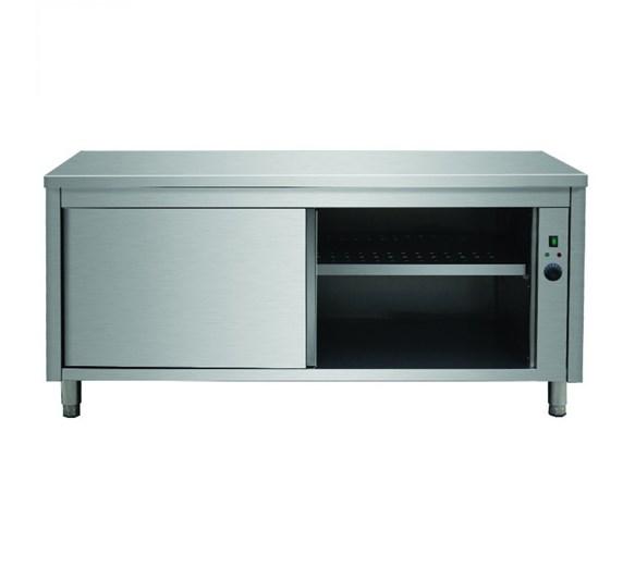 Italinox 1000mm Stainless Steel Heating Cabinet - Hot Cupboard - Plate Warmer