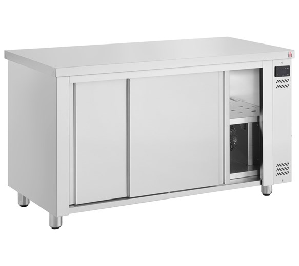 Inomak 1390mm Stainless Steel HCP14 Heating Cabinet/Hot Cupboard/Plate Warmer
