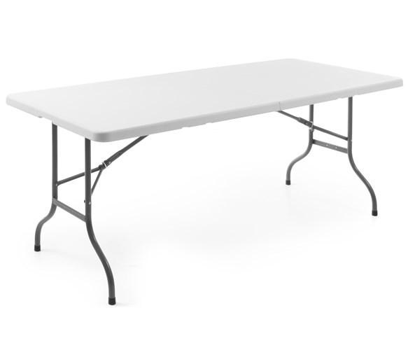 Quattro Party - Event - Rectangular Centre Folding Table 6ft - 1830mm - White