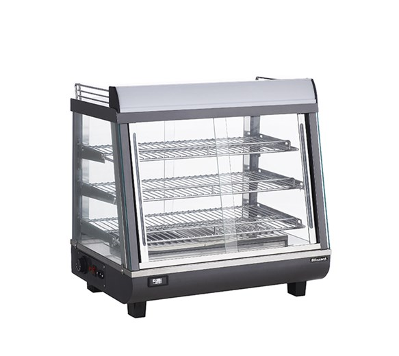 Blizzard 97 Litre Counter Top Heated Merchandiser Display HSS96