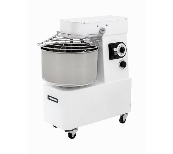 Italinox Prisma IBV15 Variable Speed Spiral Dough Mixer 16 Litre - 12Kg Bowl Bowl