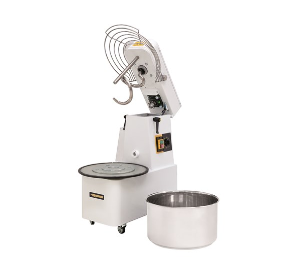 Italinox 3 Phase Twin Speed 48 Ltr 40kg Dough Mixer Removable Bowl & Lift Up Lid