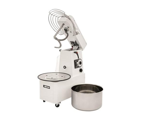Italinox Prisma IRV50 Dough Mixer. Lift Up Adjustable Variable Speed Inverter