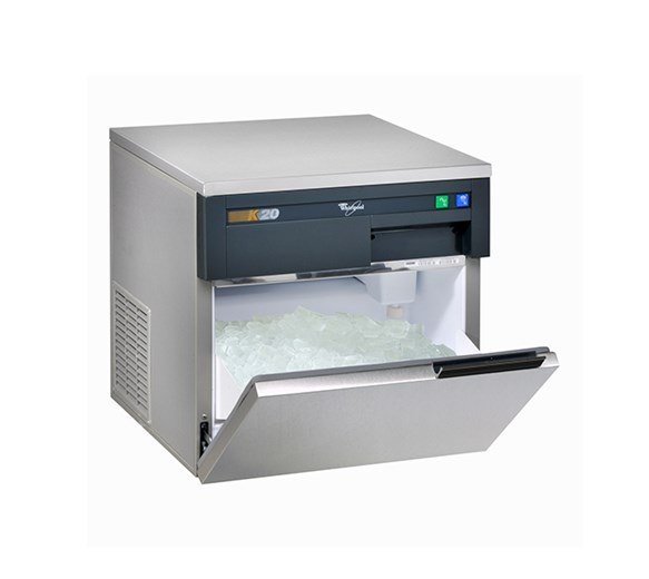 Whirlpool K20 Ice Machine. Makes Up To 24kg a Day With 10kg Storage Bin