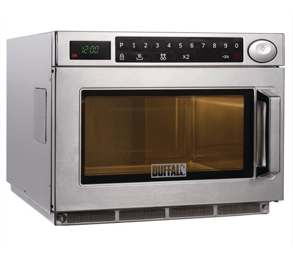 Buffalo 1500w Commercial Flatbed Microwave With 2 Year Warranty