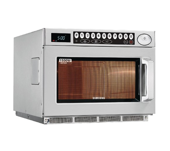 Samsung CM1529 1500w Programmable Commercial Microwave With 3 Years Warranty