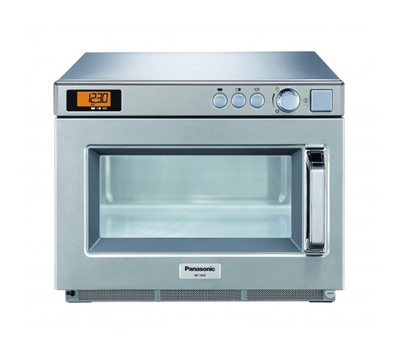 Panasonic NE1843 1800W Commercial Flatbed Microwave with 4 Year Warranty