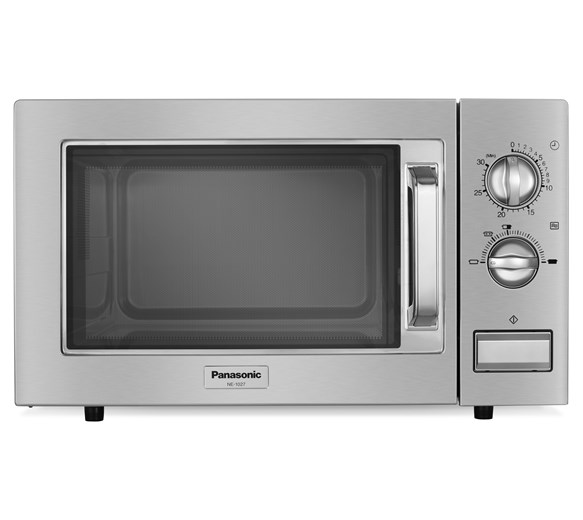 Panasonic NE1027 1000W Commercial Flatbed Microwave Oven With 4 Year Warranty