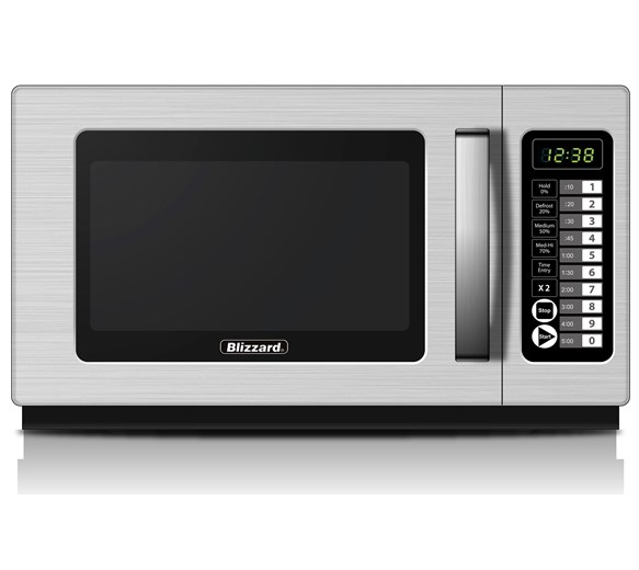 Blizzard BCM1800 1800w 34l Stackable Commercial Microwave with 2 Year Warranty
