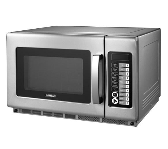 Blizzard BCM2100 - 2100w Heavy Duty Programmable Microwave With 2 Years Full Warranty