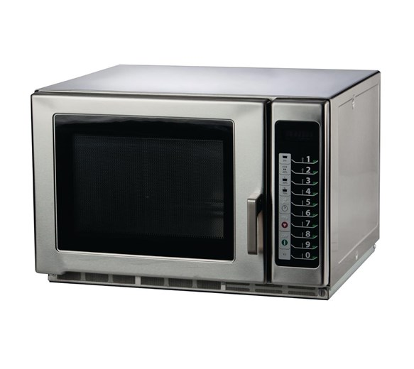1800w 3 Year Warranty 34 litre Stackable Combi Microwave by Gastrotek