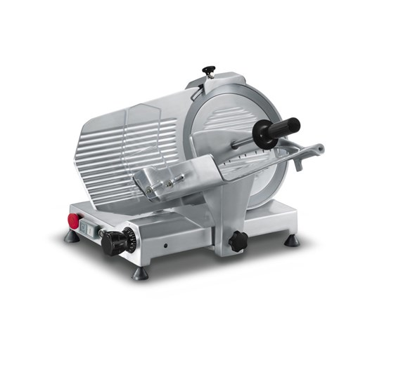 "Sirman Mirra 220mm - 8"" Meat Slicer. Emergency Stop Button - Made In Italy"