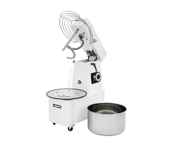 Italinox Dough Mixer 32 ltr 24kg Lift Up Lid & Removable Bowl. Made in Italy