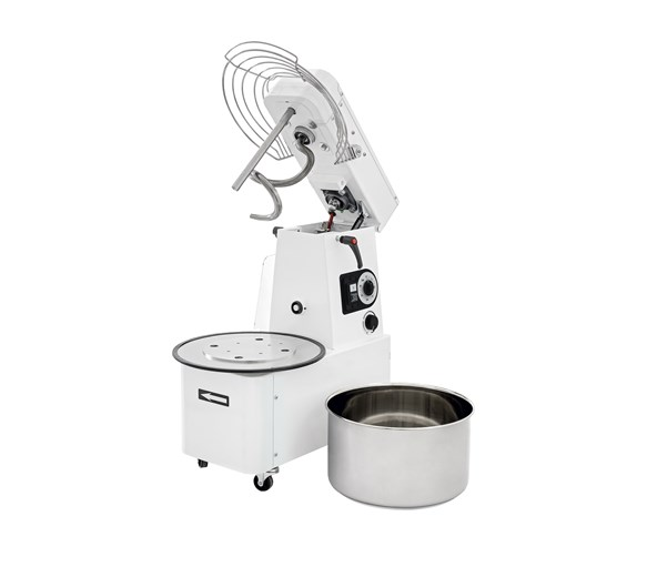 Italinox Variable Speed Dough Mixer Lift Up Lid & Removable 32 Litre 24kg Bowl