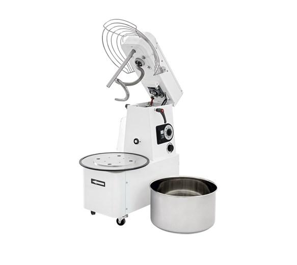 Italinox Variable Speed Dough Mixer Lift Up Lid & Removable 41 Litre 32kg Bowl