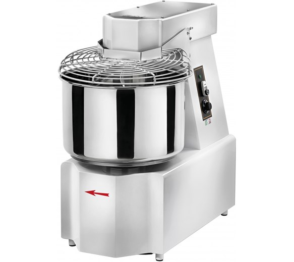 Gam Spiral Dough Mixer 48 Litre 42kg Bowl Volume. 2 Year Warranty Made In Italy