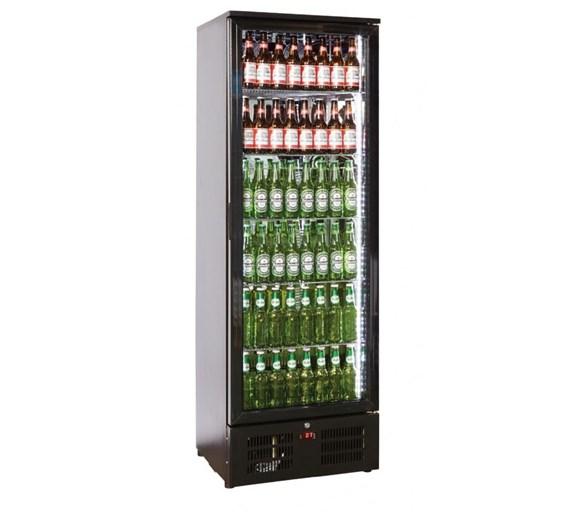 Tall Bottle Cooler Back Bar Fridge with Single Hinged Door