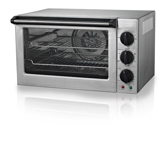 Gastrotek 42ltr Commercial Convection Oven with Rotisserie