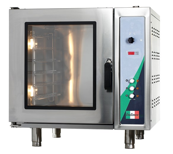 Italinox Large 181 Litre 6 Grid Combi Convection Oven with Steam