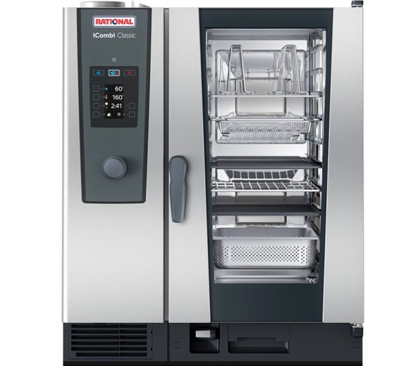Rational iCombi Classic 10-1/1 Gas Combination Oven