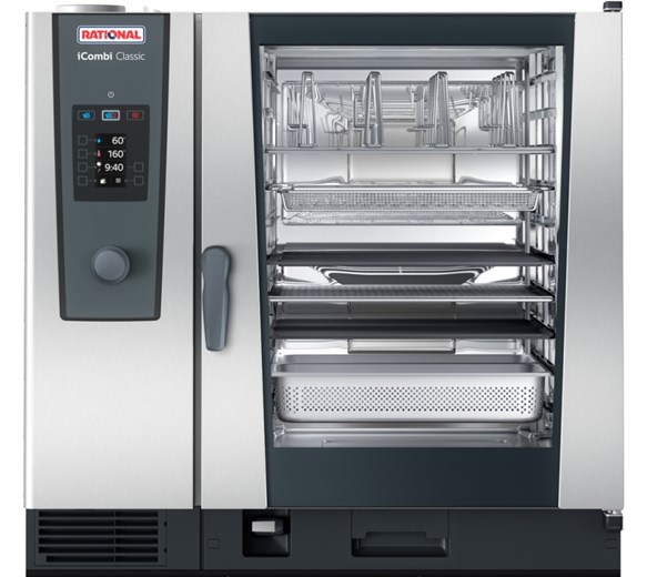 Rational iCombi Classic 10-2/1 Electric Combination Oven 3 Phase