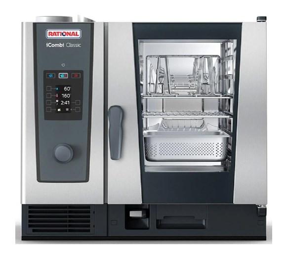 Rational iCombi Classic 6-1/1 Gas Combination Oven