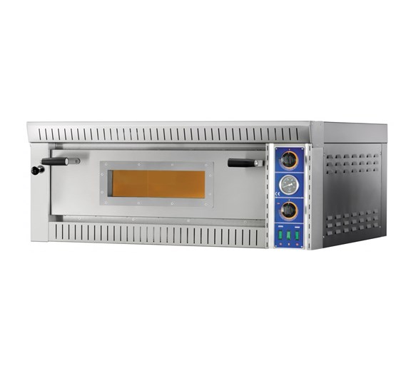 Gam SB6 Single Deck Electric Pizza Oven. Cooks 6 x 13 Inch Pizza