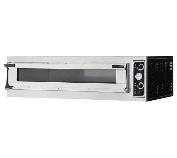 Italinox 1500mm Wide Single Deck Electric Pizza Oven Cooks 6 x 16 Inch Pizzas