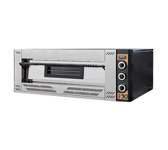 """Italinox Prisma G9 Gas Pizza Oven. Capacity 9 x 12"""" Pizzas - Made In Italy"""