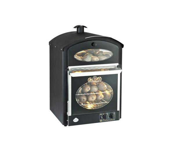 King Edward Bake King Large Potato Oven Black - Made In The UK