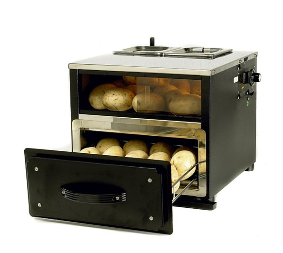 Victorian Baking Ovens 3 in 1 Potato Station With Two Pot Bain Marie