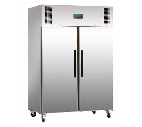 Polar 1200  Litre Double Door Stainless Steel Refrigerator