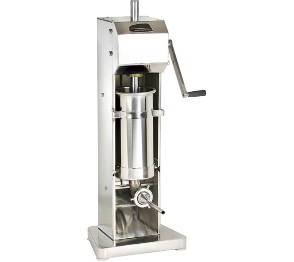 Quattro 7 Litre Stainless Steel Sausage Stuffer - Filler - Maker